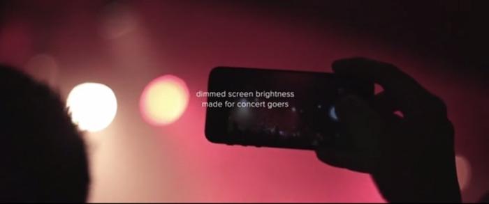 dimmedscreen