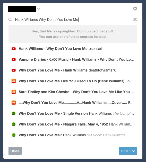 Tumblr Is Now Blocking Uploads of Infringing Content…