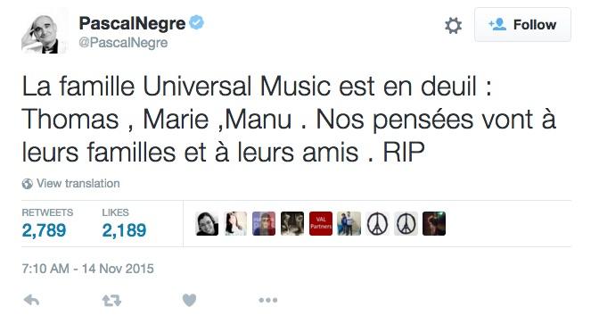 UMG_tweet_paris