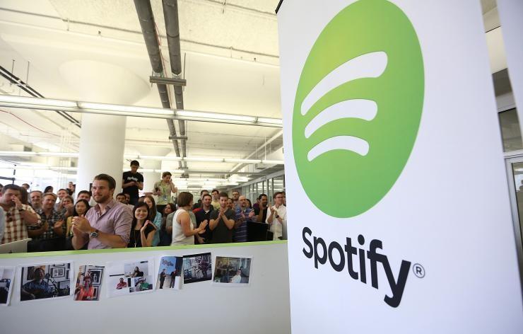 Spotify team meeting.