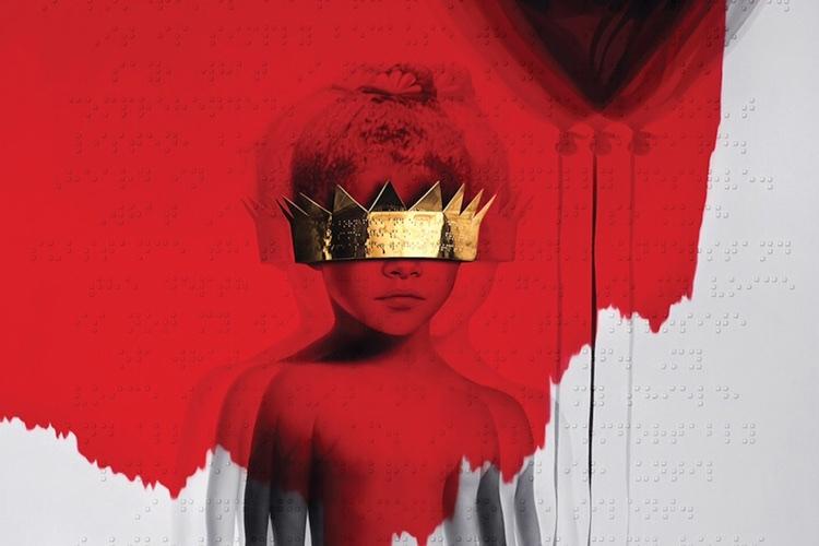 Rihanna 'Anti' Album Cover