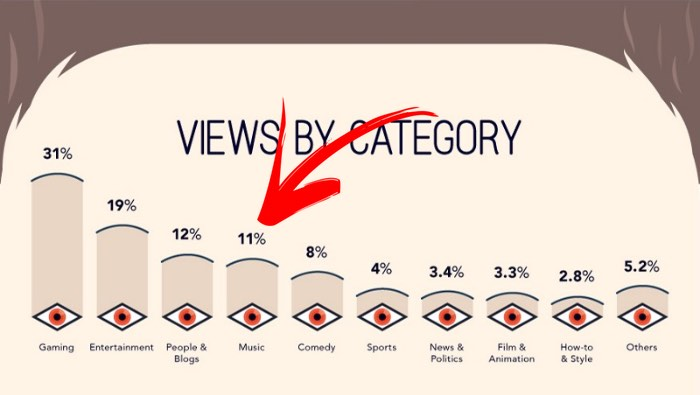 YouTube Views Category