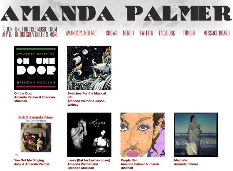 amandapalmer1_bandcamp_howtomakeawebsite