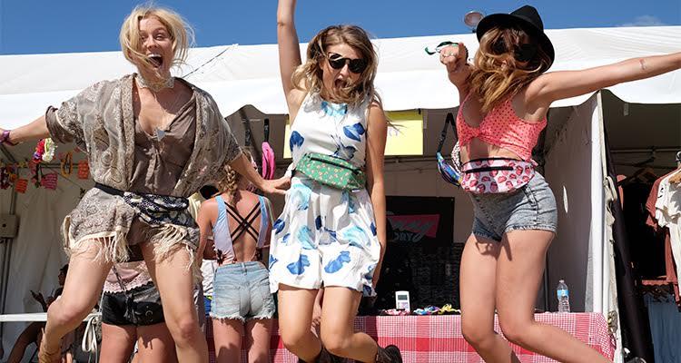 Image result for fanny pack music festival