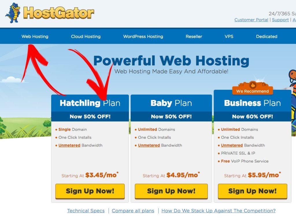 howtomakeawebsite_hostgatorhatchling