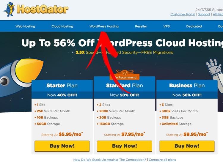 howtomakeawebsite_wordpressonhostgator