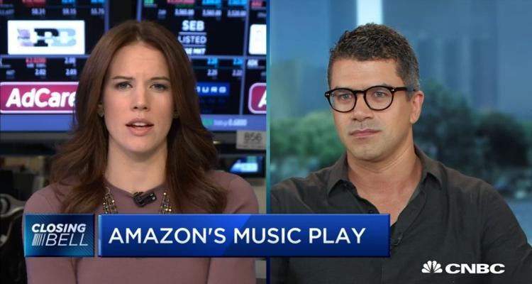 Amazon Music on CNBC