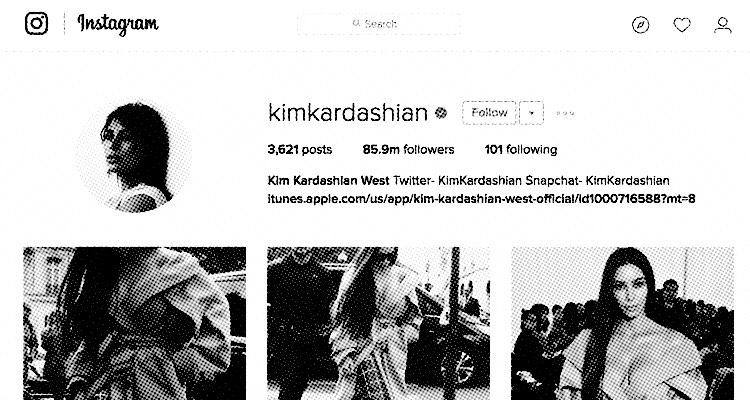 Kim Kardashian: Gone from Instagram