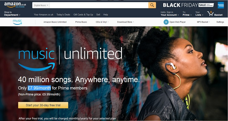 Amazon Music Unlimited Launches in the UK, Germany, and Austria