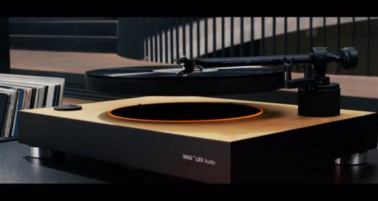 500 000 Raised To Build The World S First Magnetic Turntable