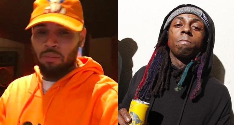 Chris Brown and Lil Wayne Images