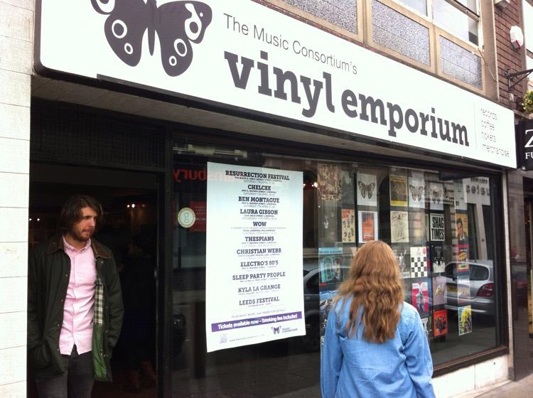 Vinyl records sales increasing: Vinyl Emporium in Liverpool