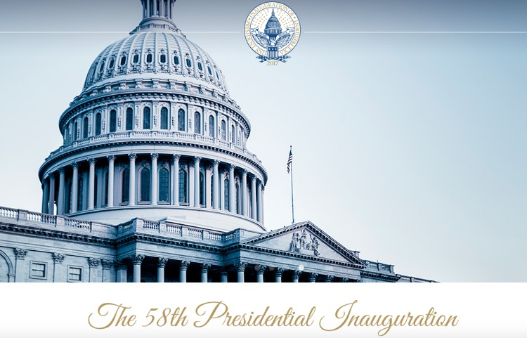 Donad Trump Official Inauguration Photo (US Capitol)