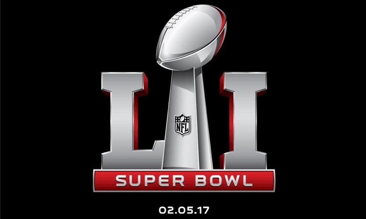 Super Bowl LI Logo. Lady Gaga Is the Halftime Performer.