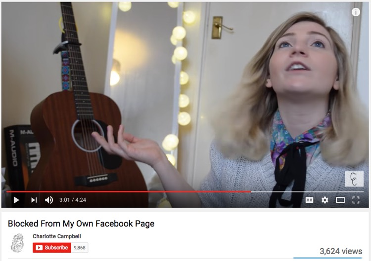 Ed Sheeran fan Charlotte Campbell (YouTube Screenshot)