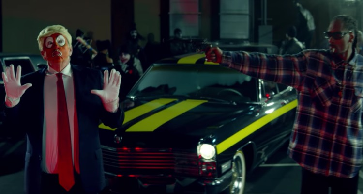 Snoop Dogg Assassinates Donald Trump in Mock Scenario in 'Lavender' (Screenshot)