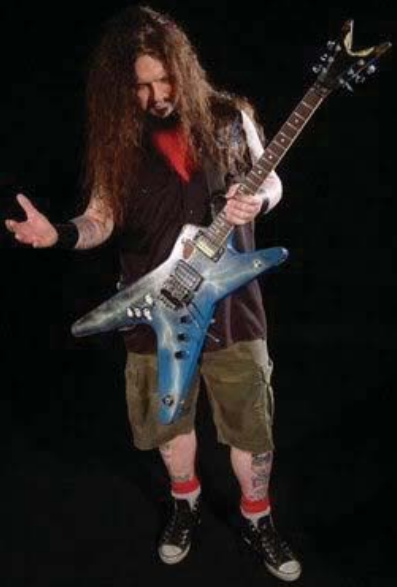 guy who designed dimebag darrell 39 s guitar hasn 39 t been paid a penny. Black Bedroom Furniture Sets. Home Design Ideas