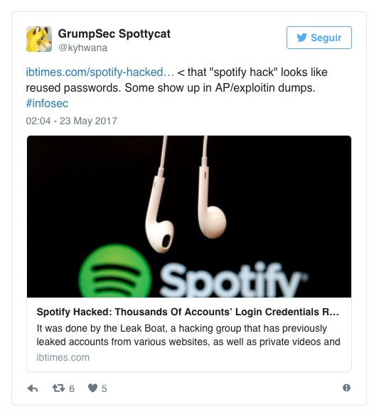 Spotify Security Team Laughing at the Dumbest Hack Ever