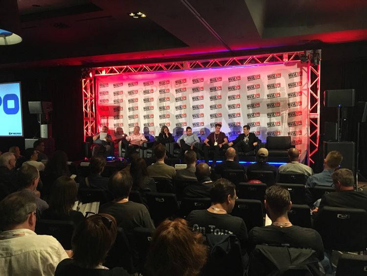 Global Managers panel discuss major labels on Monday at Musexpo 2017 in Hollywood