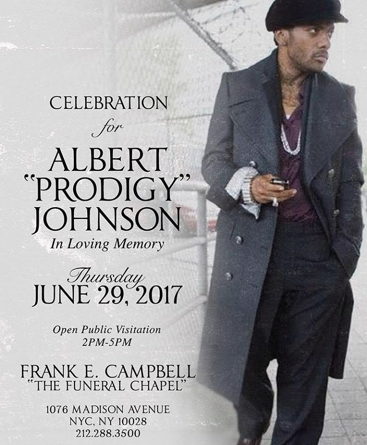 Prodigy Funeral Announcement