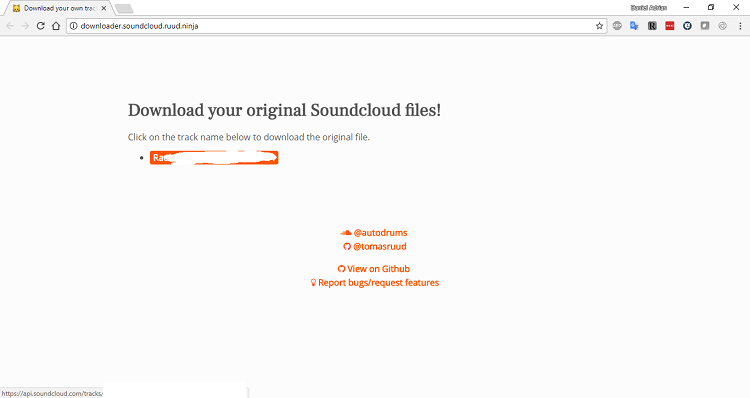 How to Quickly Download Your Original, Uncompressed Soundcloud Files
