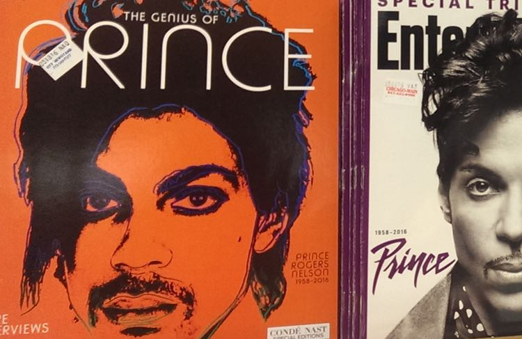 Prince on Newstands