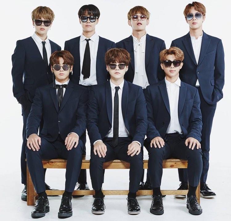 Members of BTS (2017)