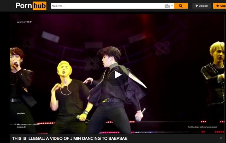 Illegal BTS video uploaded to Pornhub [Oct 22 2017]
