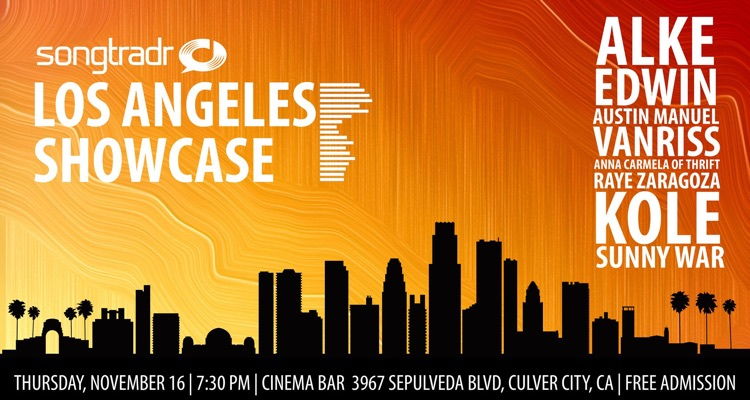 Songtradr Los Angeles Showcase