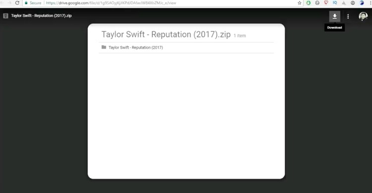 Get Your Free MP3 Download  Taylor Swift's 'Reputation' — On Google Maps