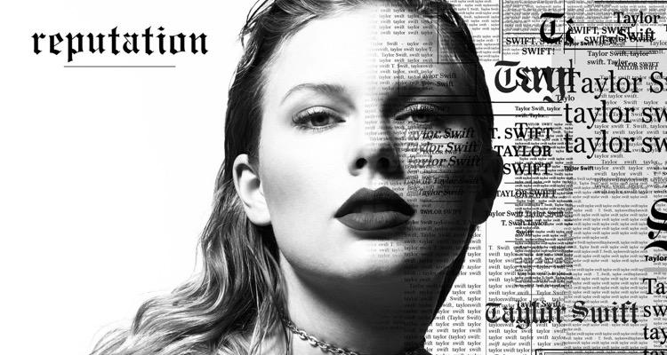 Taylor Swift's latest album, 'Reputation'