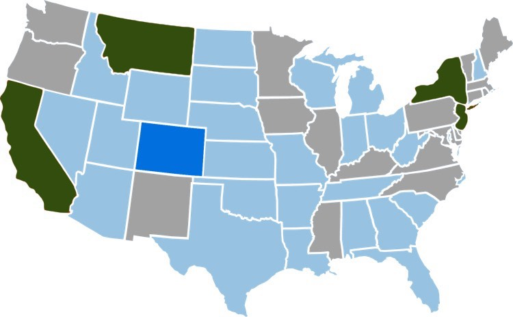 4 US States Representing 15th of the Countrys Population