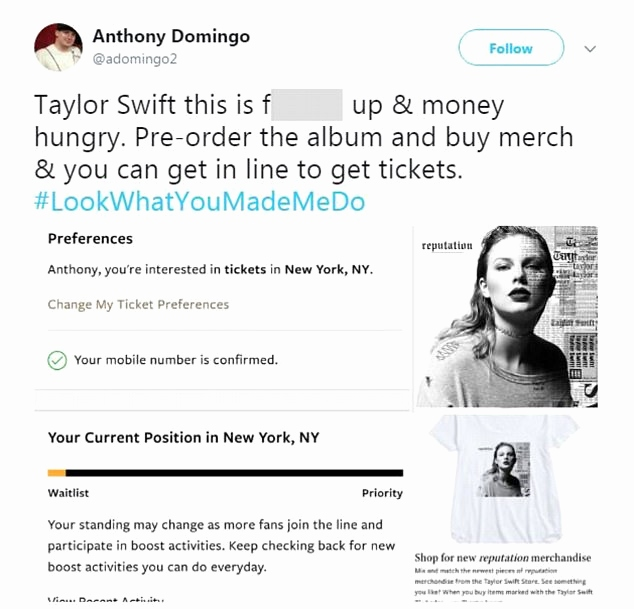 3e24ceccf8c12 A Detailed Explanation on Why Taylor Swift's Reputation Tour Is a Total  Disaster