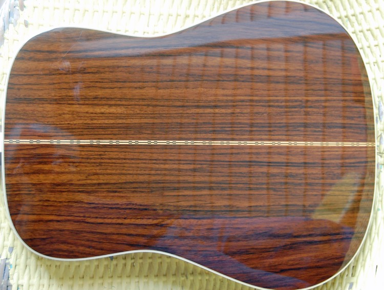Back of a guitar body made with Rosewood (photo: Jud McCranie CC 3.0)
