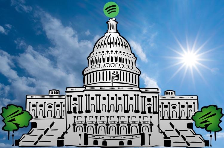 Spotify: Sunny Days on Capitol Hill