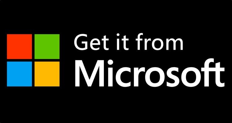 Microsoft Store's 'Get it from Microsoft' slogan.