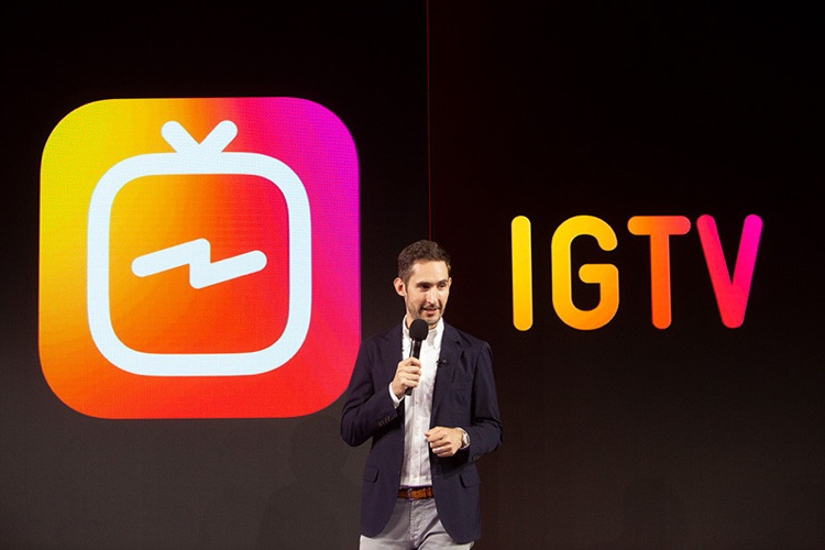 Instagram cofounder Kevin Systrom unveiled IGTV this week (photo: Instagram)
