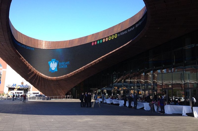 Barclays Center in Brooklyn, which apparently offered a sweetheart deal to Musicares (photo: Darkhunger CC 3.0)
