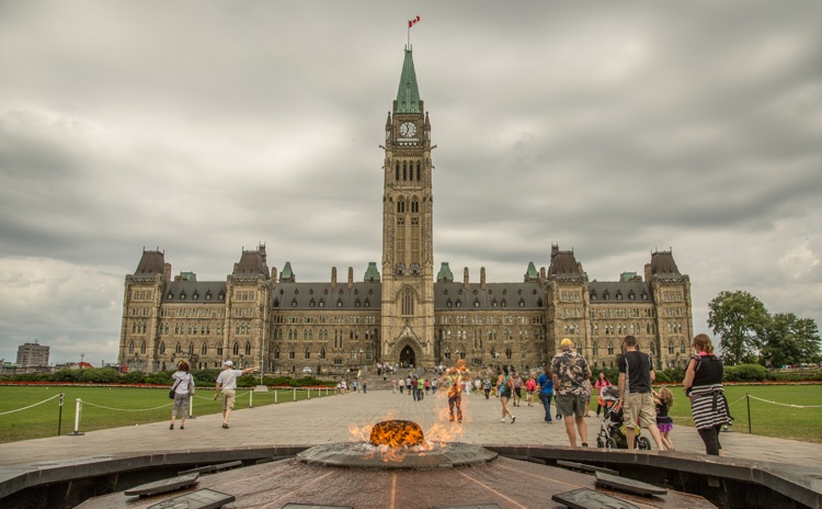 Canada's Parliament Hill, Ottawa (photo: Tony Webster CC 2.0)
