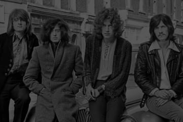 Led Zeppelin Studio London 1969