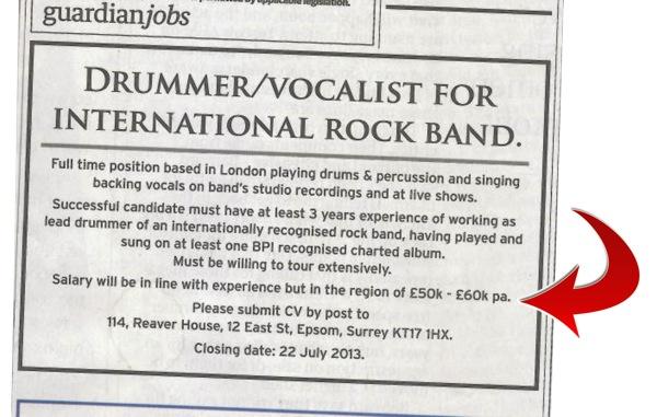 drummerwanted