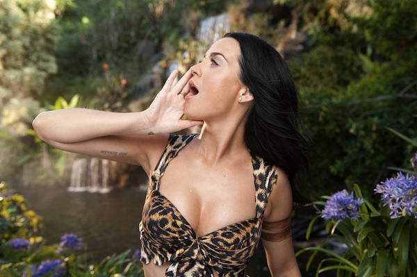 Still from Katy Perry music video, 'Roar'