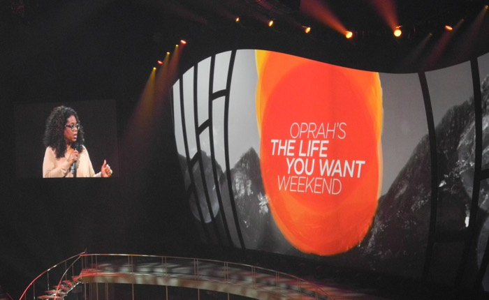 Oprah Winfrey's 'The Life You Want' Weekend