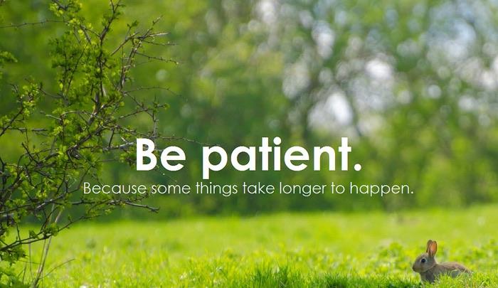 bepatient