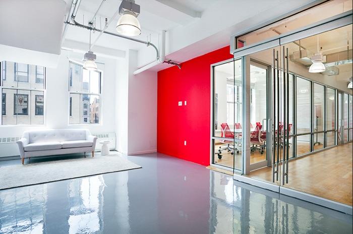 SoundCloud's Plush Manhattan Office Space