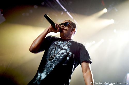 Jay-Z concert at UMass.