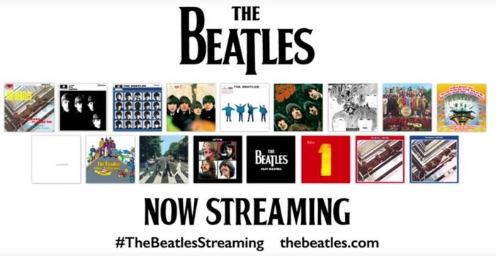 The Beatles Start Streaming