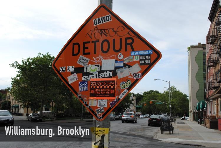 Detour, Williamsburg