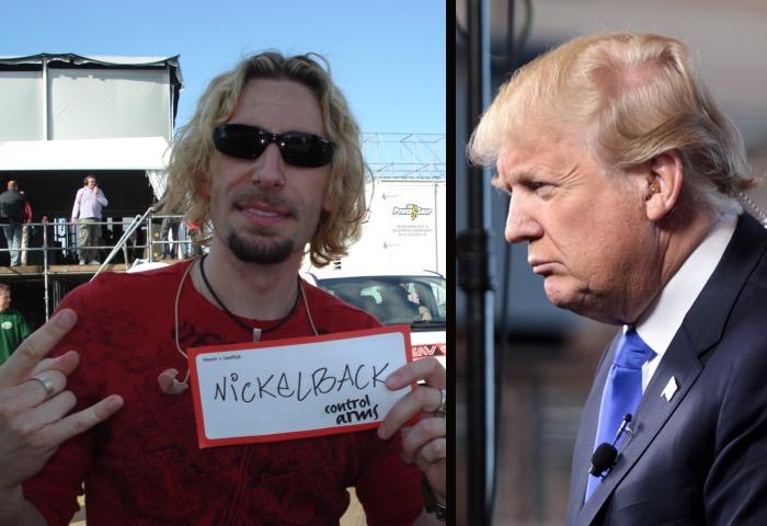 Donald Trump Loves Nickelback