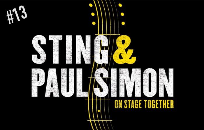 Sting and Paul Simon Concert Tour